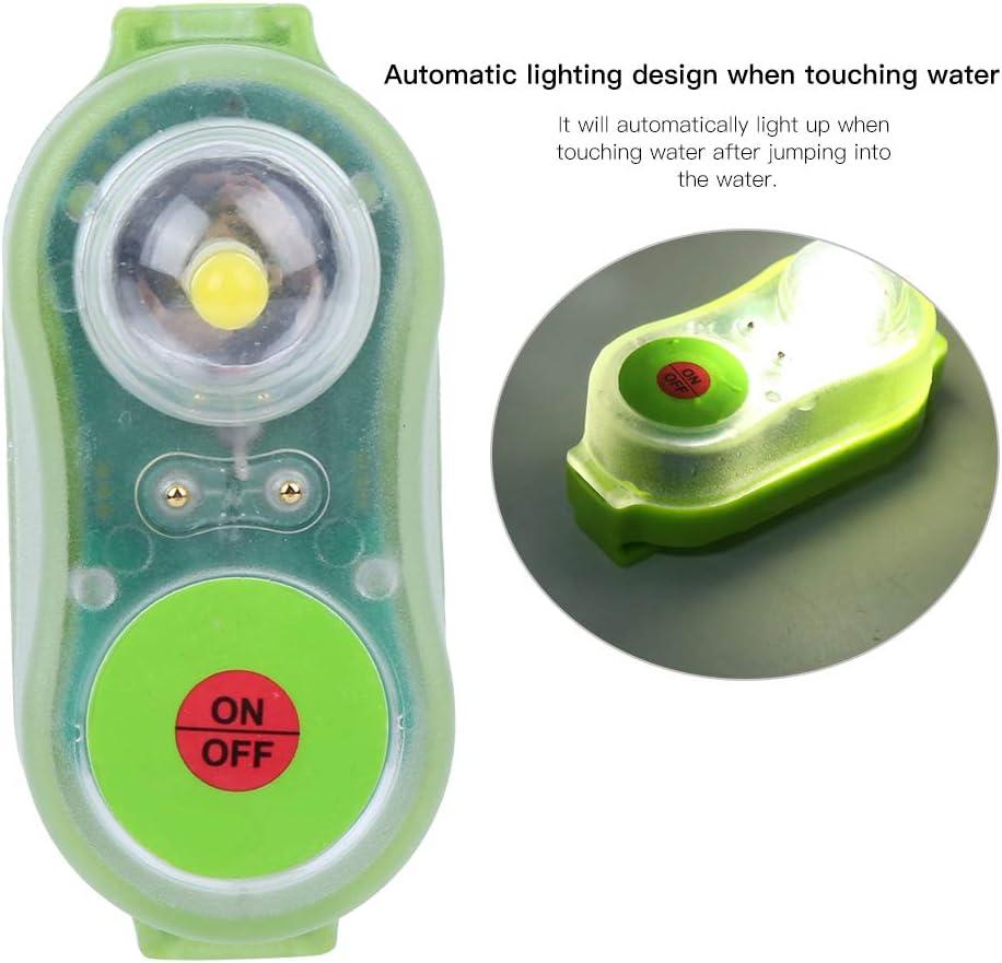Lampada per Luce di attrazione Arancione//Ciano Hebrew Luce per Giubbotto di Salvataggio al Litio JHYD-I salvavita per Luce per Giubbotto di Salvataggio al Litio a LED in plastica