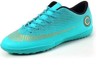 Pojkar fotbollsskor, andningsbara halkfria fotbollspinnar för tävling/träning, tonåringar professionella sneakers