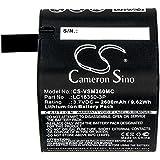 Cameron Sino Replacement Battery for Panoramic/VSN Mobil LC18350-3P, FIts Panoramic/VSN Mobil V.360° V.360 HD, Li-ion 3.70V 2600mAh/9.62Wh