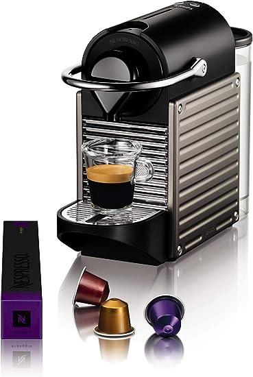 -Krups Nespresso Pixie XN304T koffiecupmachine - Ultracompact ontwerp - 19 bar - Snelle opvarming in 25 sec.-aanbieding