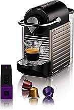 Krups Nespresso Pixie XN304T koffiecupmachine - Ultracompact ontwerp - 19 bar - Snelle opvarming in 25 sec.