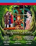 Fairytale Operas. Hansel y Gretel. La zorrita astuta. Las aventuras de Pinocho. Varias orquestas y cantantes [Blu-ray]