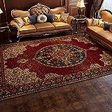 QKDSDM Alfombras Home Alfombra De Diseño Rojo Persa Turco alfombras de habitacion Alfombra Salon Alfombras Infantiles 200x300cm