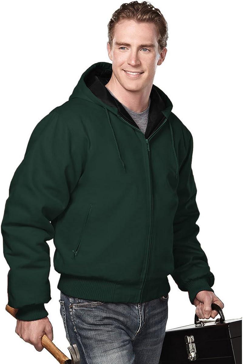 Tri-Mountain Heavyweight 12 oz Hooded Canvas Jacket. 4600 Timberline