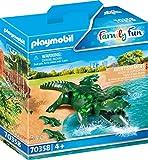 Playmobil 70358 Alligator avec bébé à partir de 4 Ans