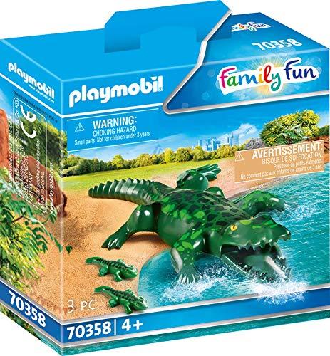 Playmobil 70358 Alligator with Babies Animal for The Event Z