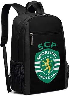 Mochila Escolar, Travel Hiking SCP Sporting Lisbon Backpacks Waterproof Big Student College High School Laptop Shoulder Bag Outdoor Backpacks For Men Women Adults