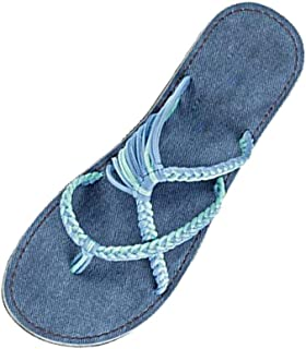 Luckycat Sandalias Plataformas Mujer Verano 2019 Nuevas Playa Punta Abierta Zapatos Cómodos Peep Toe Alpargatas Cuñas Semi...