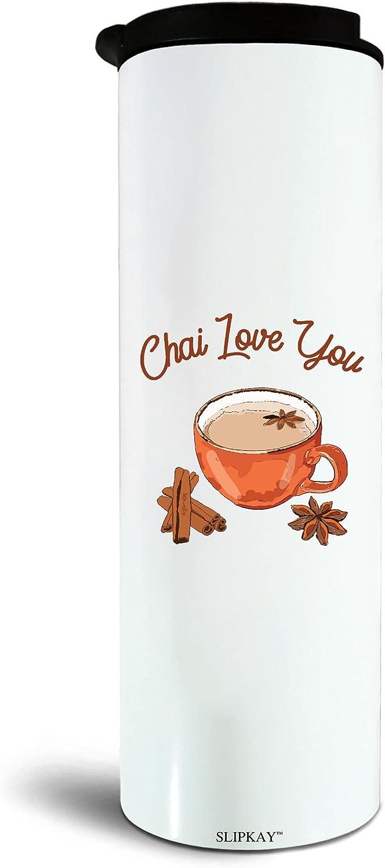 Food Pun Chai Love 17oz Tumbler Fashion Max 71% OFF Tea You