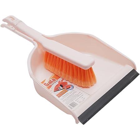 Gala Dustgo Set Brush Set with Dustpan (Assorted Colour) (132759)