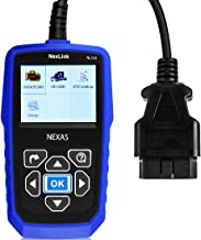 NEXAS LUMNX-NL102+SC Heavy Duty Truck NL102 OBD/EOBD+HDOBD Diagnostic Scanner Scan Tools Engine ABS Transmission Check Trucks & Cars 2 in 1 Codes Reader