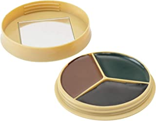 HME 3 Color Camo Face Paint Kit with Mirror