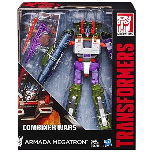Transformers Generations Leader Class Armada Megatron Figure
