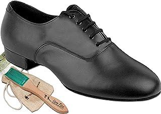 "Mens Ballroom Dance Shoes Standard & Smooth Tango Wedding Salsa Shoe CD9411EB -Very Fine 1"" [Bundle of 5]"