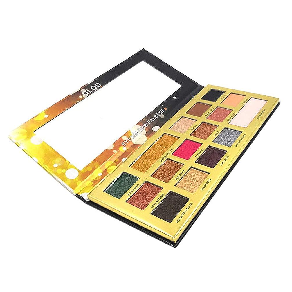 レバー法律発生するB Blesiya 16色 メイクアップパレット アイシャドウ 化粧パレット マット シマー