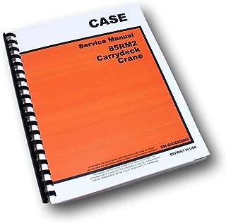Case Drott 85Rm2 Carrydeck Crane Service Manual Catalog Maintenance Instructions