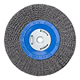 Mercer Industries 183020 Crimped Wire Wheel, 8' x 3/4' x 2' (1/2', 5/8'), For Bench/Pedestal Grinders
