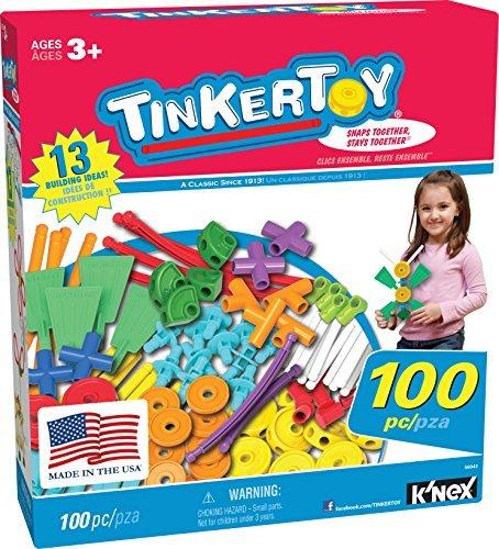 TINKERTOY 100 Piece Essentials Value Set by Tinkertoy