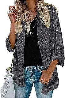 Womens Oversized Cardigan Sweaters Long Sleeve Open Front Knit Sweater Drape Coats