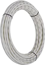 SharkBite PEX Pipe 1/2 Inch, White, Flexible Tube, Potable Water, Push-to-Connect Plumbing Fittings, U860W100, 100 Foot Coil, 100-Foot,