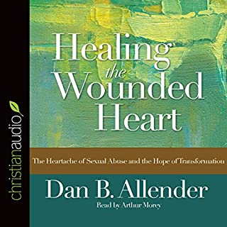 Healing the Wounded Heart audiobook cover art