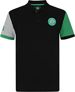 26a275fb9ef Celtic FC Official Football Gift Mens Crest Polo Shirt
