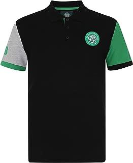 Celtic Football Club Official Soccer Gift Mens Crest Polo Shirt