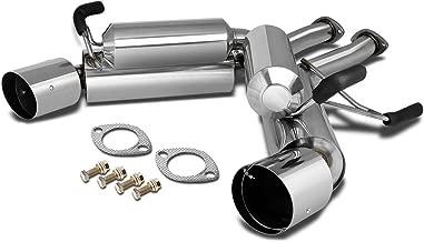 DNA Motoring CBE-350Z-G35-AX CBE350ZG35AX Stainless Steel Catback Exhaust System