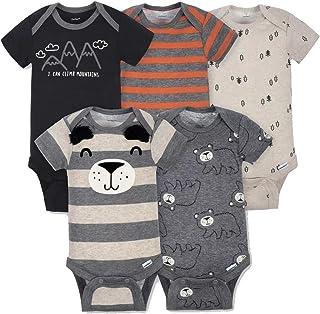 baby-boys 5-pack Variety Onesies Bodysuits