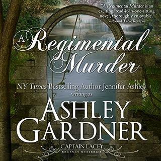 A Regimental Murder audiobook cover art