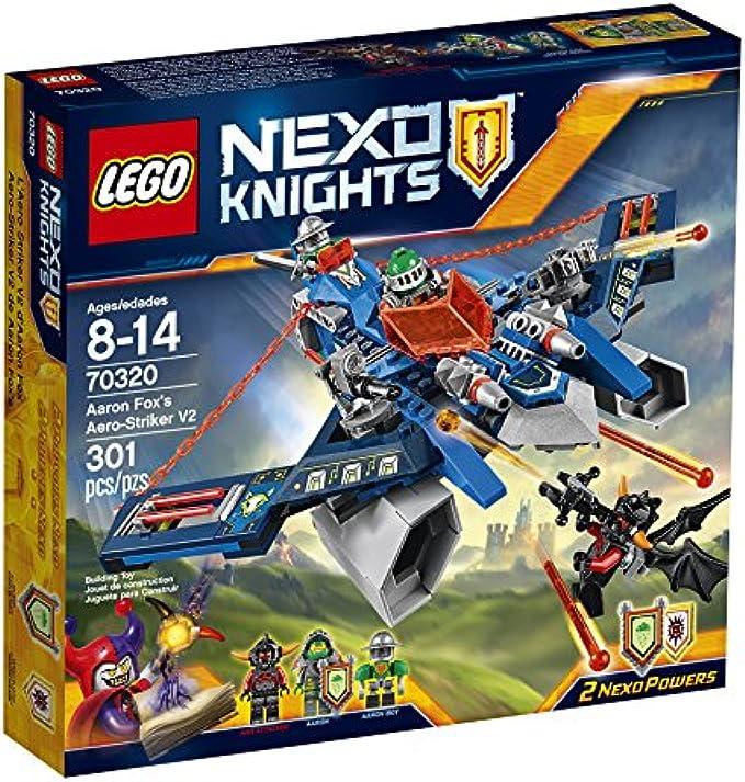 LEGO NexoKnights 70320 Aaron Fox's Aero-Striker V2