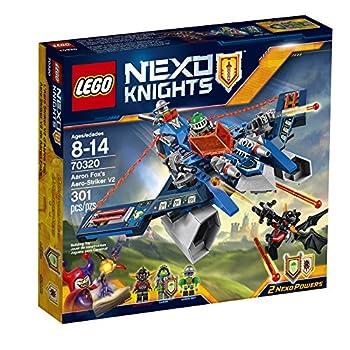 LEGO Nexo Knights 70320 Aaron Fox s Aero-Striker V2 Building Kit  301 Piece