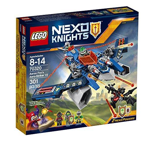 LEGO Nexo Knights 70320 Aaron Fox's Aero-Striker V2 Building...