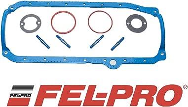 Fel Pro 1 Piece Oil Pan Gasket 1986-2002 Chevy sb 350 305 265 LT1 Vortec (1pc Molded Rubber)