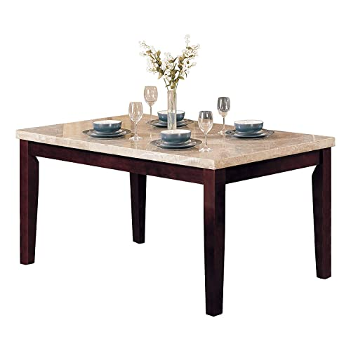 Stone Top Dining Table: Amazon.com