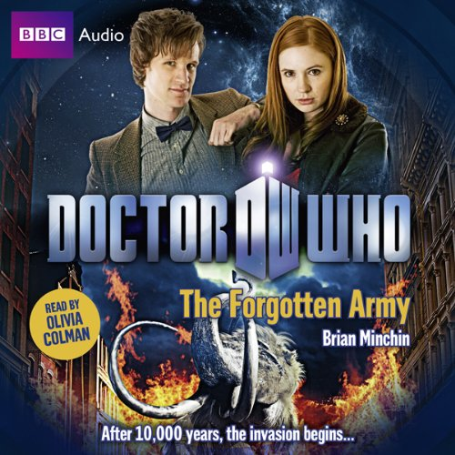 Doctor Who: The Forgotten Army audiobook cover art