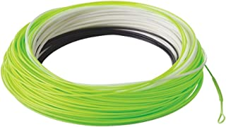 RIO Fly Fishing Fly Line InTouch Streamer tip 10' Type 6 Wf6F/S6 Fishing Line, Black-White-Pale-Green