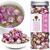 Plant Gift France Rose Tea,( Francia rosa té ) Fragrant Natural Pink Rosa Damascena Rose Buds Flower Tea, Rose Petals Organic Culinary Food Grade Health Natural Herbal Flower Tea 50g/1.76oz