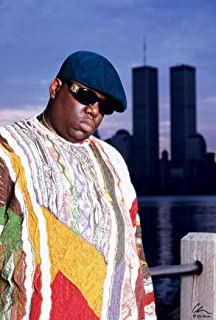 NOTORIOUS BIG POSTER WORLD TRADE CENTER NYC BIGGIE POSTER 24 X36