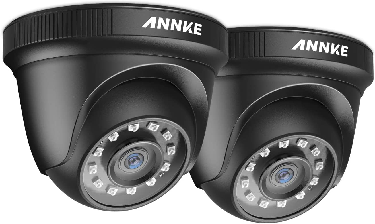 ANNKE 2 40% OFF Cheap Sale Seasonal Wrap Introduction Packed TVI HD 1080P in CCTV Dome Security Outdoor Camera