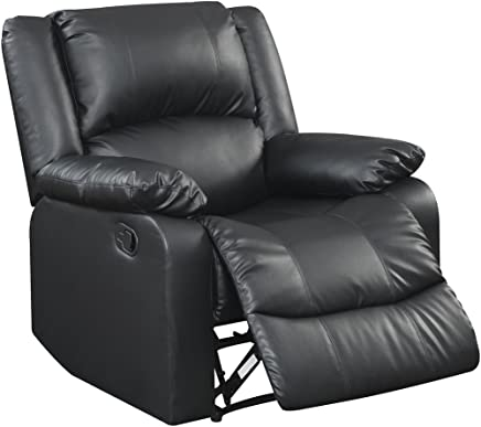 featured product Relax A Lounger RR-PRK1CP3001 Logan Reclining Chair 37.4 L x 36.4 W x 38.5 H Black