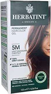Permanent Haircolor Gel 5M Light Mahogany Chestnut 1 Box