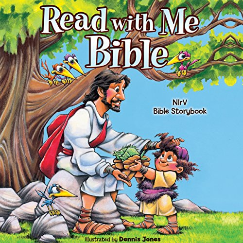 Read with Me Bible, NIrV audiobook cover art
