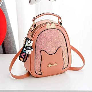 Backpack chest bag casual backpack dual-use canvas bag ladies tide wild