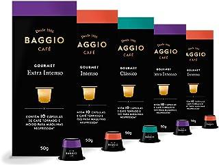 50 Cápsulas Para Cafeteira Nespresso – Baggio Café Gourmet – 5 caixas