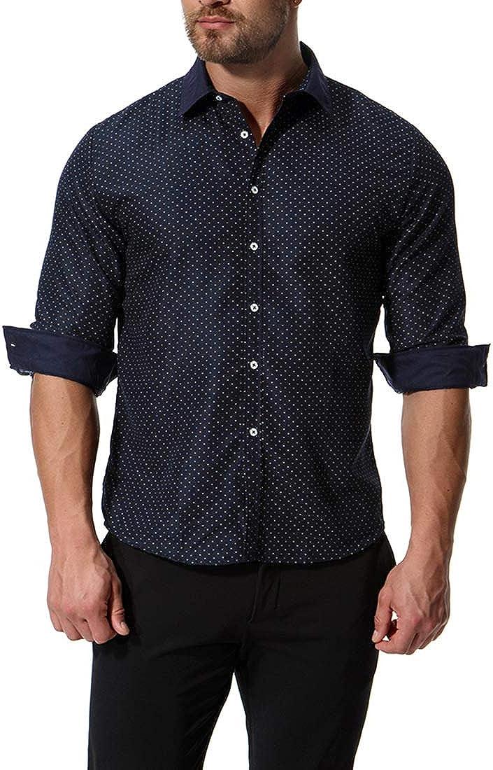 Chickwin Hombre Casual Manga Larga Camisa de Algodón ...