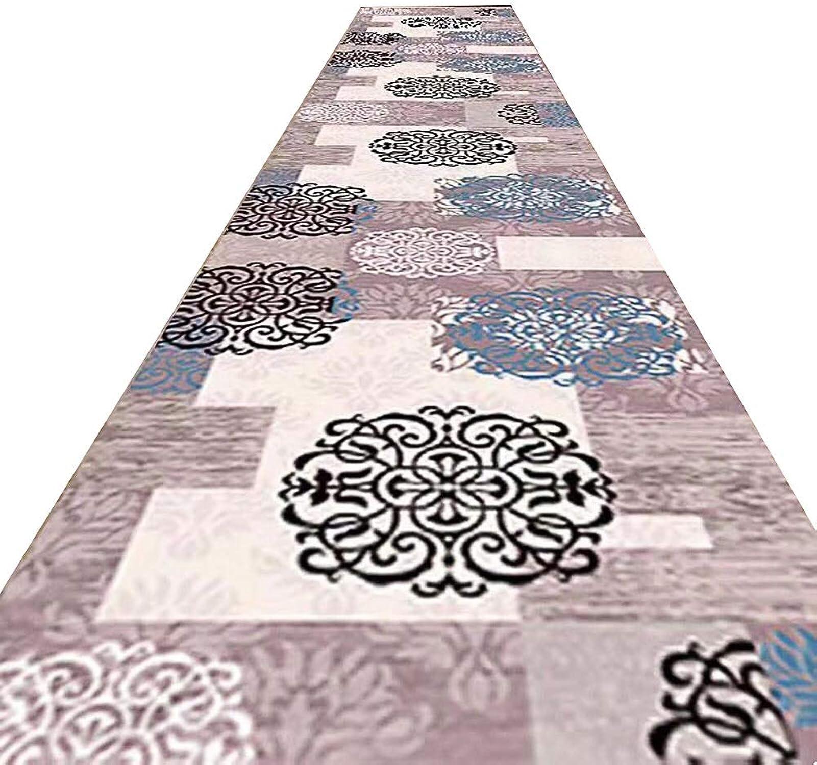 encuentra tu favorito aquí ZHAOHUI-alfombras pasillo Galería Diseo Floral Cuidado Facil Antideslizante A A A Prueba De Humedad Anti Estático, Personalizado, con 7mm De Altura (Color   A, Tamao   0.8x2m)  echa un vistazo a los más baratos