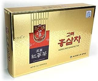 Korea Red Ginseng Tea 100 Bags (3g100) Anti-aging,Anti Stress out Korean Ginseng