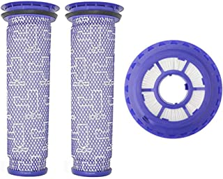Wigbow Vacuum Filters Compatible with Dyson DC41, DC65, DC66 HEPA Post Filter & Pre Filter. for Animal, Multi Floor and Ball Vacuums. Compare to Part # 920769-01 & 920640-01