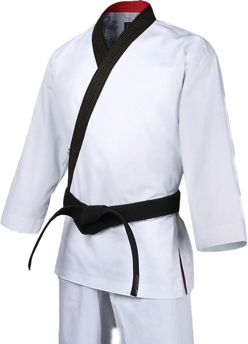 Mooto Korea Taekwondo Grand Master Al sold out. White Unifo Geum Oakland Mall BK-Neck Gang